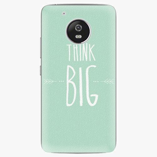 Plastový kryt iSaprio - Think Big - Lenovo Moto G5