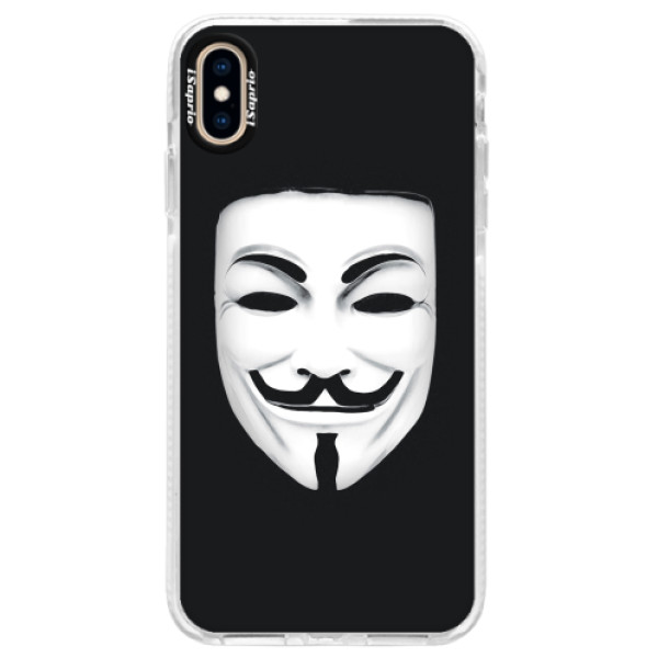 Silikonové pouzdro Bumper iSaprio - Vendeta - iPhone XS Max