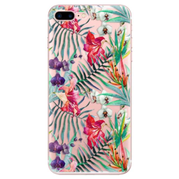 Odolné silikonové pouzdro iSaprio - Flower Pattern 03 - iPhone 7 Plus