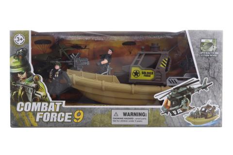 Vojenská sada se člunem