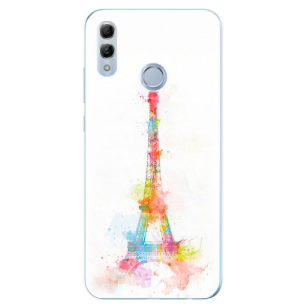 Odolné silikonové pouzdro iSaprio - Eiffel Tower - Huawei Honor 10 Lite