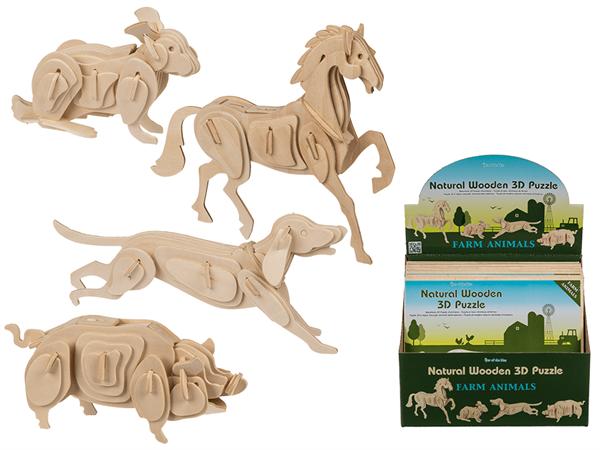 3D puzzle - nosorožec