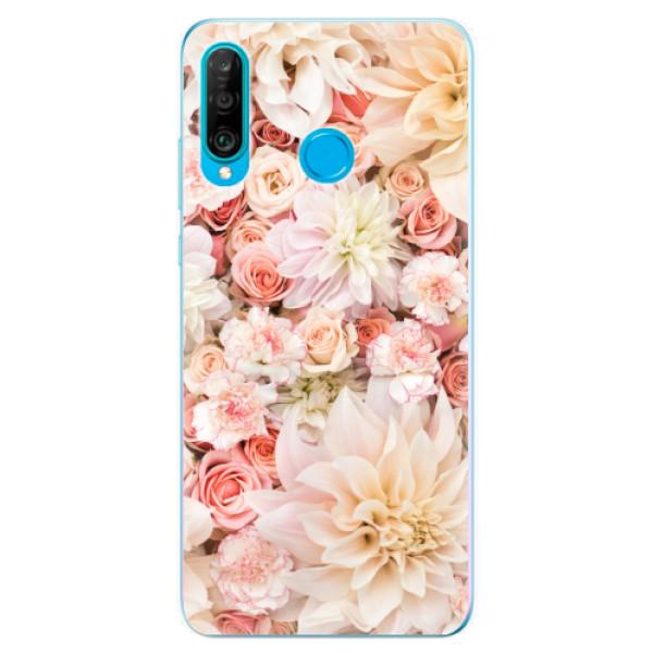 Odolné silikonové pouzdro iSaprio - Flower Pattern 06 - Huawei P30 Lite
