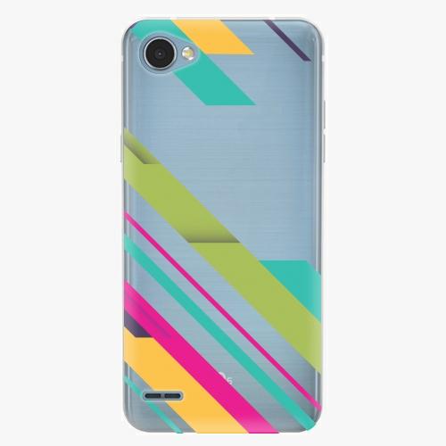 Plastový kryt iSaprio - Color Stripes 03 - LG Q6