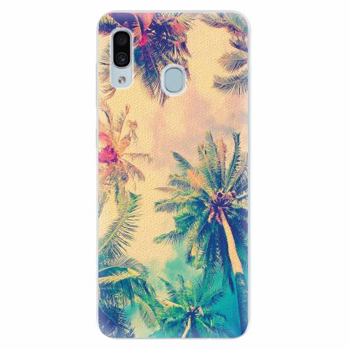 Silikonové pouzdro iSaprio - Palm Beach - Samsung Galaxy A30