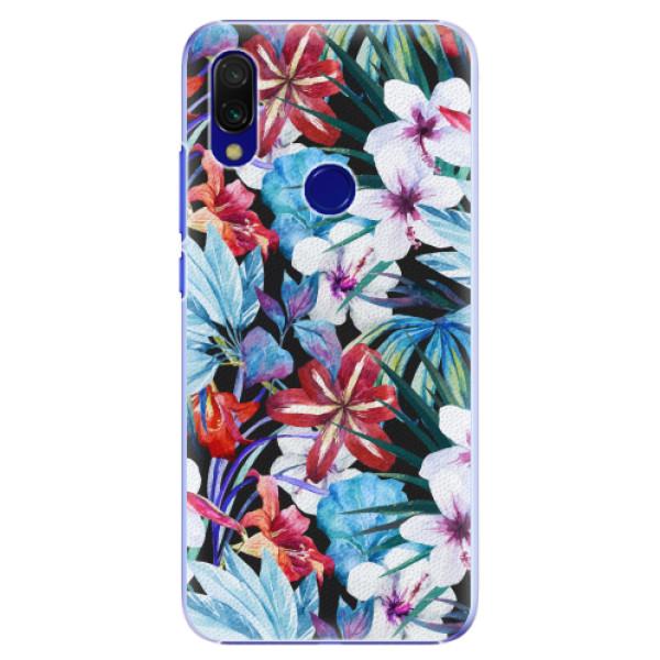 Plastové pouzdro iSaprio - Tropical Flowers 05 - Xiaomi Redmi 7