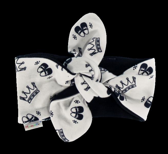 Mamatti Šátek, čelenka Pin-up Princezna, granátové korunky