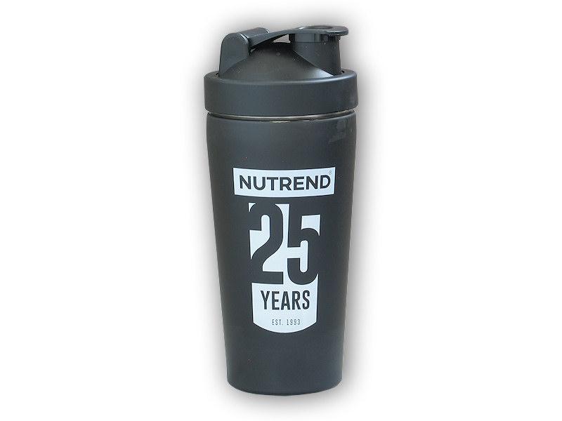 Shaker Nutrend 780ml kovový 25let šejkr