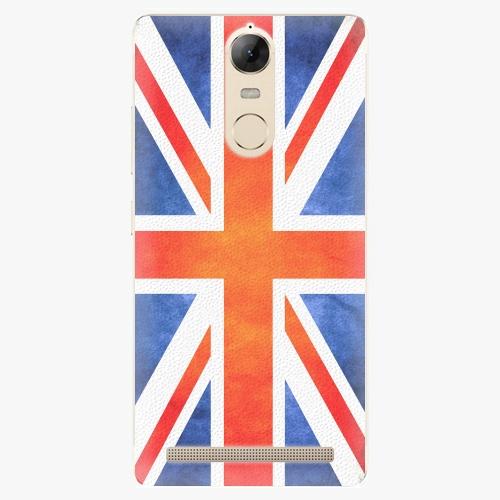 Plastový kryt iSaprio - UK Flag - Lenovo K5 Note
