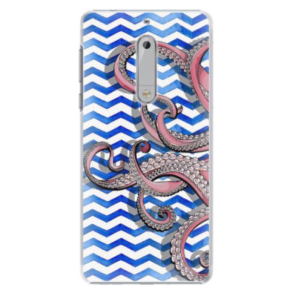 Plastové pouzdro iSaprio - Octopus - Nokia 5
