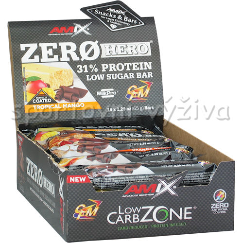 15x Zero Hero High Protein Low Sugar Bar