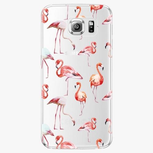 Plastový kryt iSaprio - Flami Pattern 01 - Samsung Galaxy S6