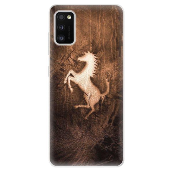 Odolné silikonové pouzdro iSaprio - Vintage Horse - Samsung Galaxy A41