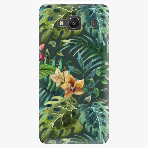 Plastový kryt iSaprio - Tropical Green 02 - Xiaomi Redmi 2