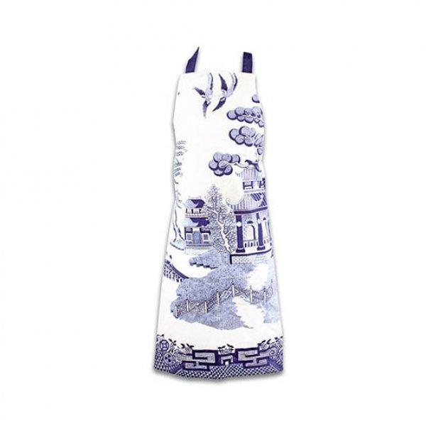 Kuchyňská zástěra - Anglický porcelán