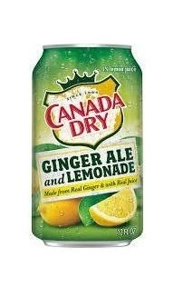 Ginger Ale and Lemonade 355ml (USA)
