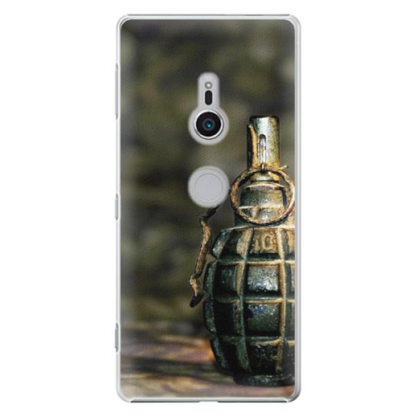 Plastové pouzdro iSaprio - Grenade - Sony Xperia XZ2