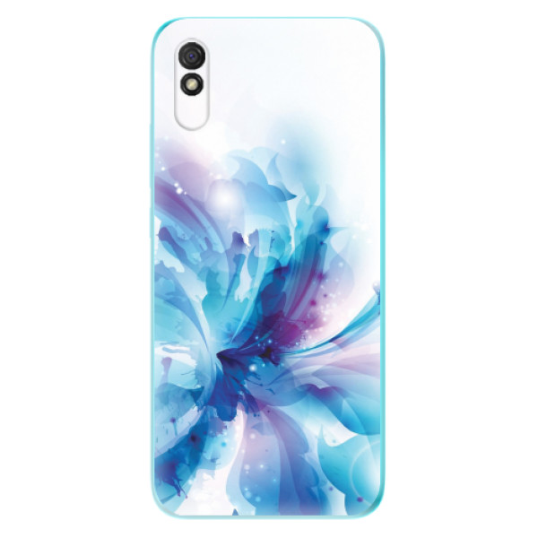 Odolné silikonové pouzdro iSaprio - Abstract Flower - Xiaomi Redmi 9A
