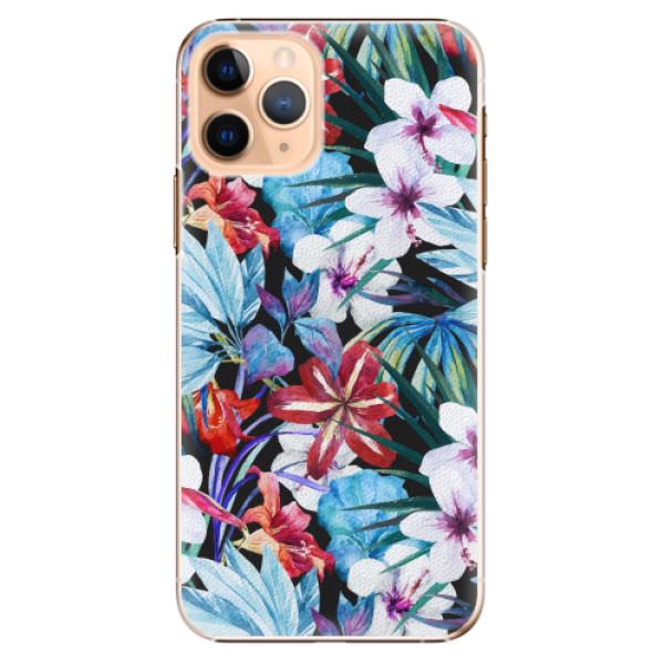 Plastové pouzdro iSaprio - Tropical Flowers 05 - iPhone 11 Pro