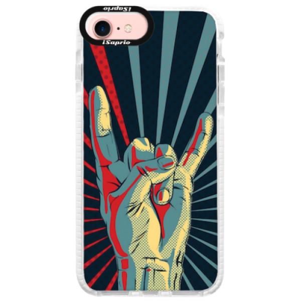 Silikonové pouzdro Bumper iSaprio - Rock - iPhone 7