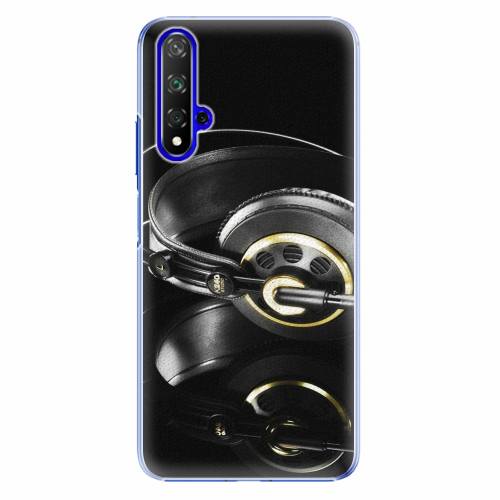 Plastový kryt iSaprio - Headphones 02 - Huawei Honor 20