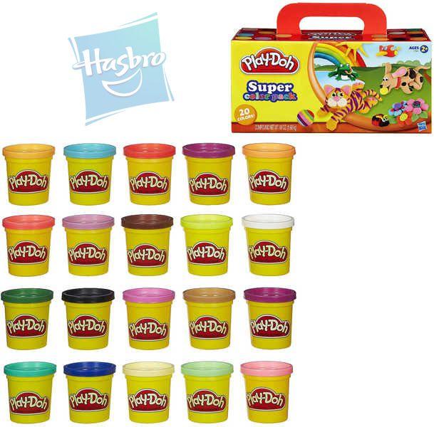 HASBRO PLAY-DOH Modelína barevná Set 20 kelímků 20 barev