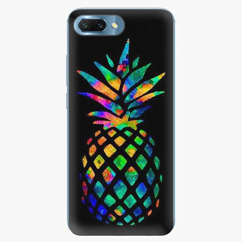 Plastový kryt iSaprio - Rainbow Pineapple - Huawei Honor 10