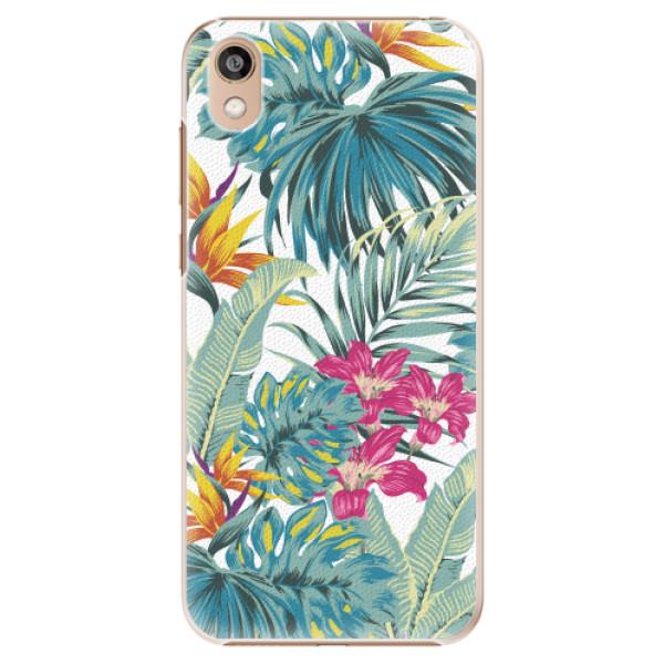 Plastové pouzdro iSaprio - Tropical White 03 - Huawei Honor 8S