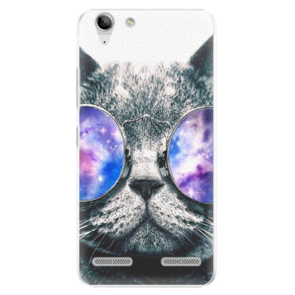 Plastové pouzdro iSaprio - Galaxy Cat - Lenovo Vibe K5