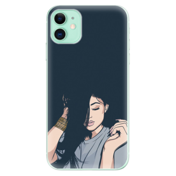 Odolné silikonové pouzdro iSaprio - Swag Girl - iPhone 11