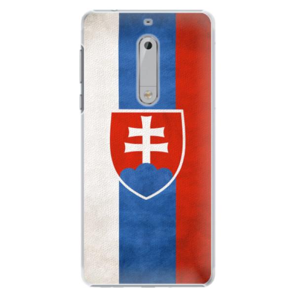 Plastové pouzdro iSaprio - Slovakia Flag - Nokia 5