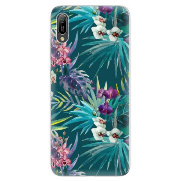Odolné silikonové pouzdro iSaprio - Tropical Blue 01 - Huawei Y6 2019