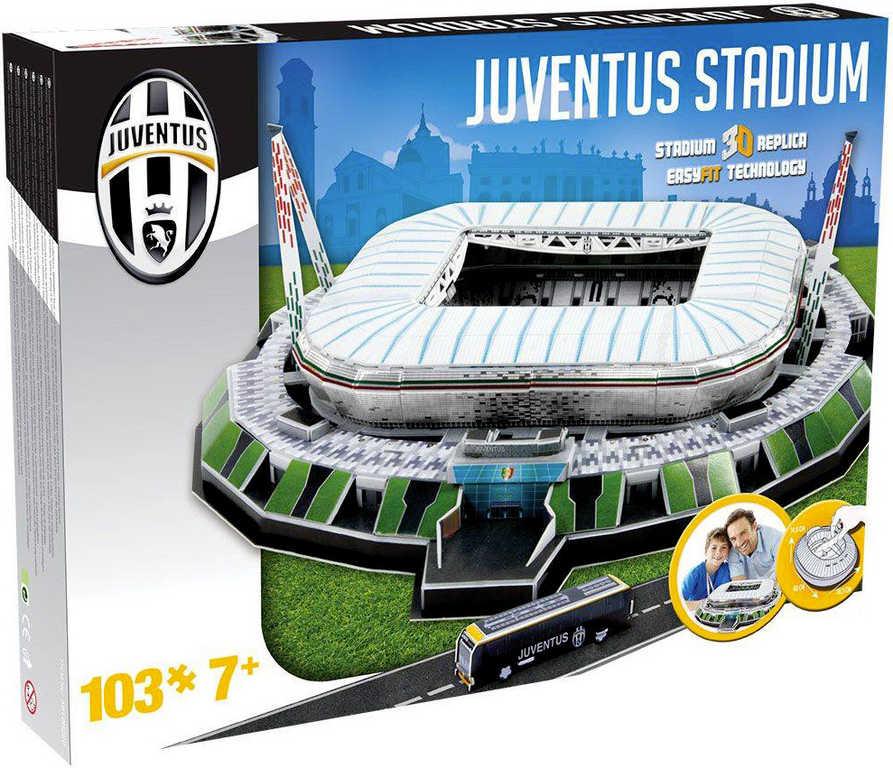 NANOSTAD 3D Puzzle model fotbalový stadion Juventus Turin itálie 103 dílků