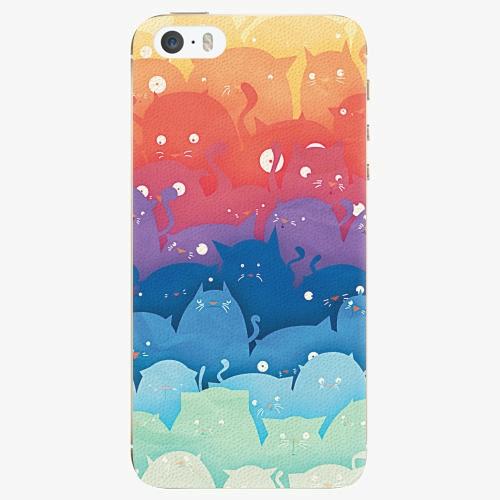 Plastový kryt iSaprio - Cats World - iPhone 5/5S/SE
