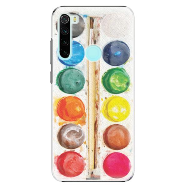 Plastové pouzdro iSaprio - Watercolors - Xiaomi Redmi Note 8
