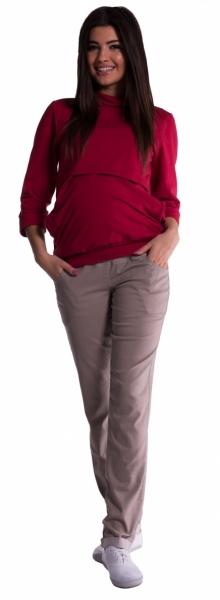 be-maamaa-tehotenske-kalhoty-bezove-4xl
