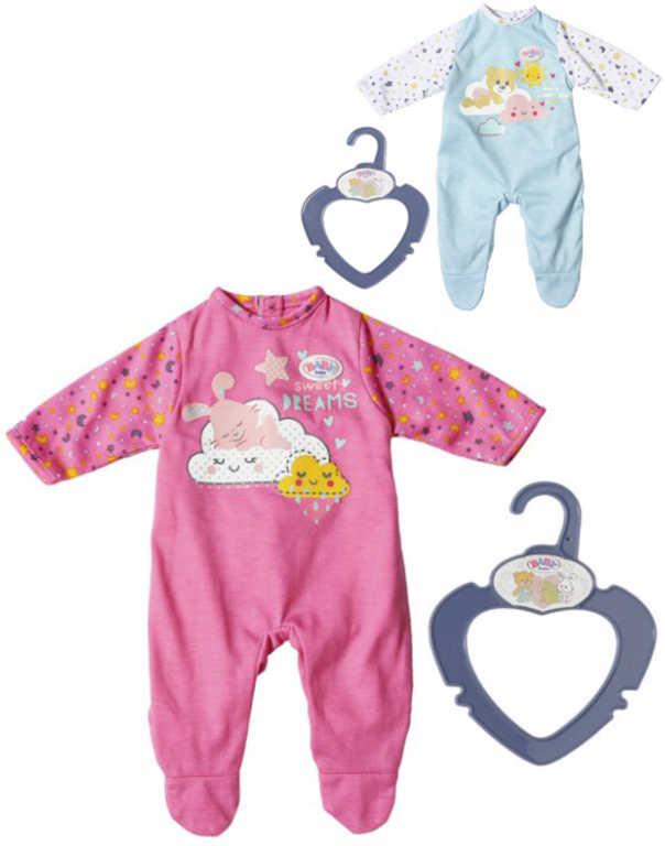 ZAPF CREATION Baby Born overal na spaní 36cm pro panenku miminko 2 druhy