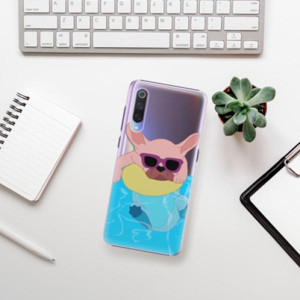 Plastové pouzdro iSaprio - Swimming Dog - Xiaomi Mi 9