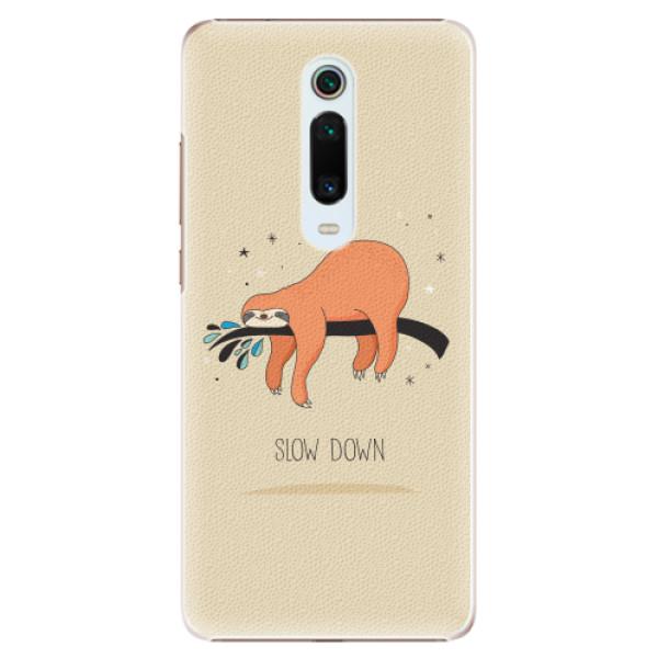 Plastové pouzdro iSaprio - Slow Down - Xiaomi Mi 9T Pro