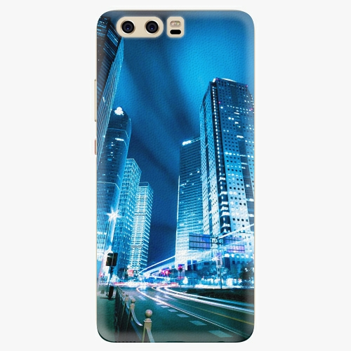 Plastový kryt iSaprio - Night City Blue - Huawei P10