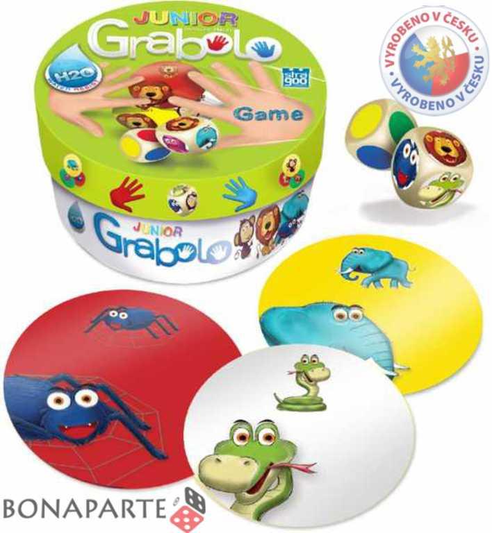 BONAPARTE Hra Grabolo junior (voděodolné karty H2O) *SPOLEČENSKÉ HRY*