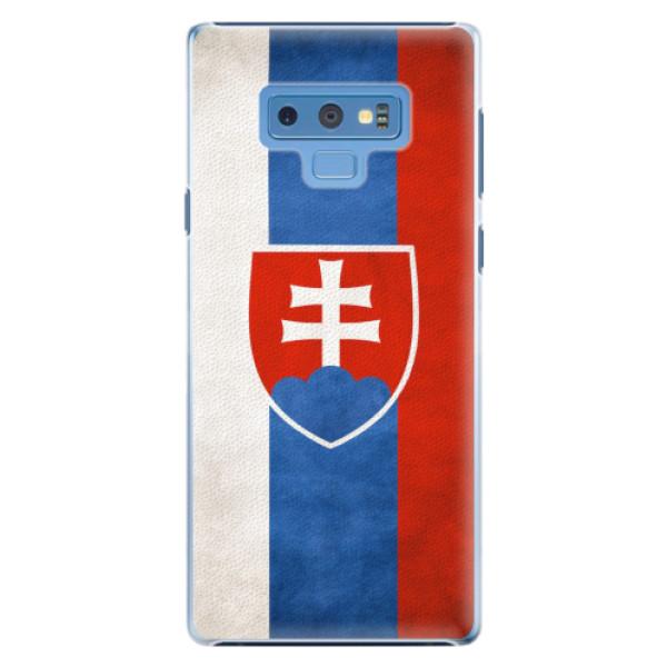 Plastové pouzdro iSaprio - Slovakia Flag - Samsung Galaxy Note 9
