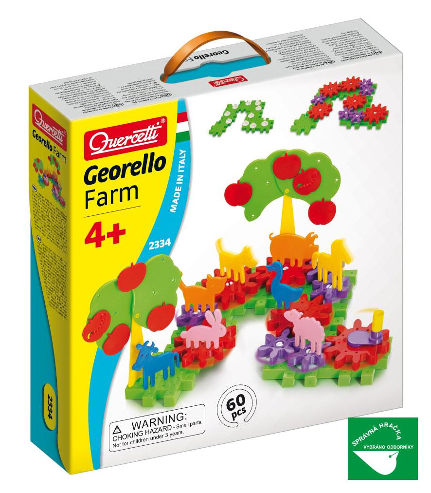 Quercetti Georello Farm 60 ks 2334