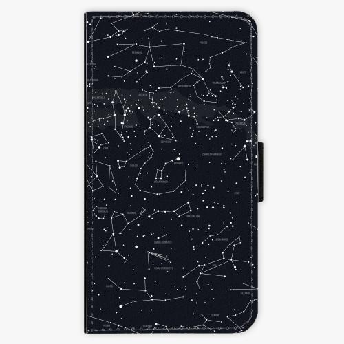 Flipové pouzdro iSaprio - Night Sky 01 - Samsung Galaxy S6
