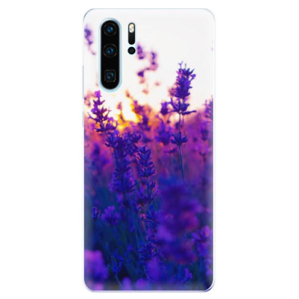 Odolné silikonové pouzdro iSaprio - Lavender Field - Huawei P30 Pro