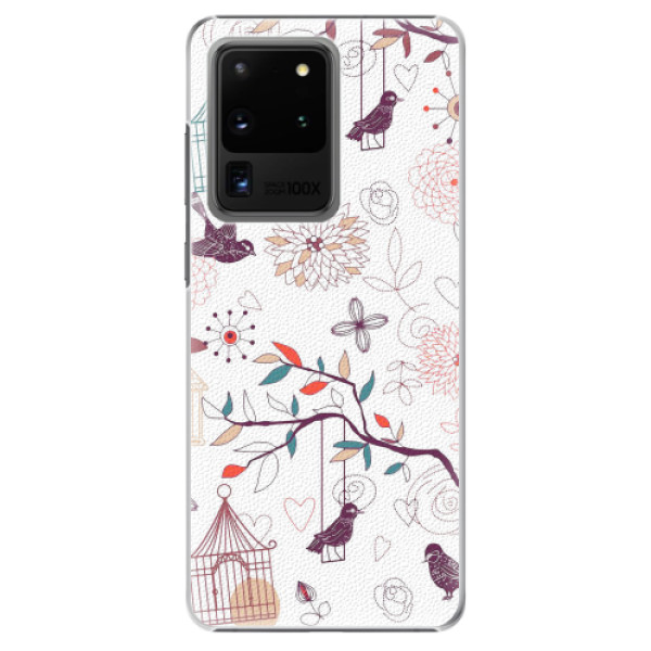 Plastové pouzdro iSaprio - Birds - Samsung Galaxy S20 Ultra