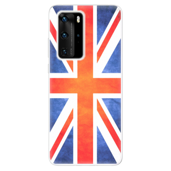Odolné silikonové pouzdro iSaprio - UK Flag - Huawei P40 Pro
