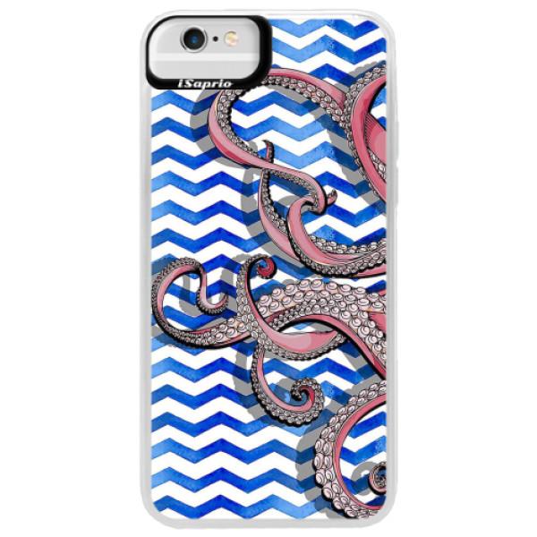 Neonové pouzdro Blue iSaprio - Octopus - iPhone 6 Plus/6S Plus