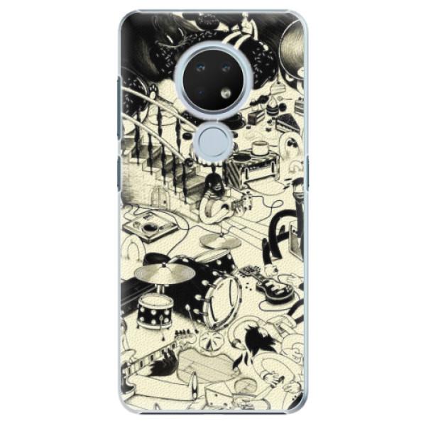 Plastové pouzdro iSaprio - Underground - Nokia 6.2