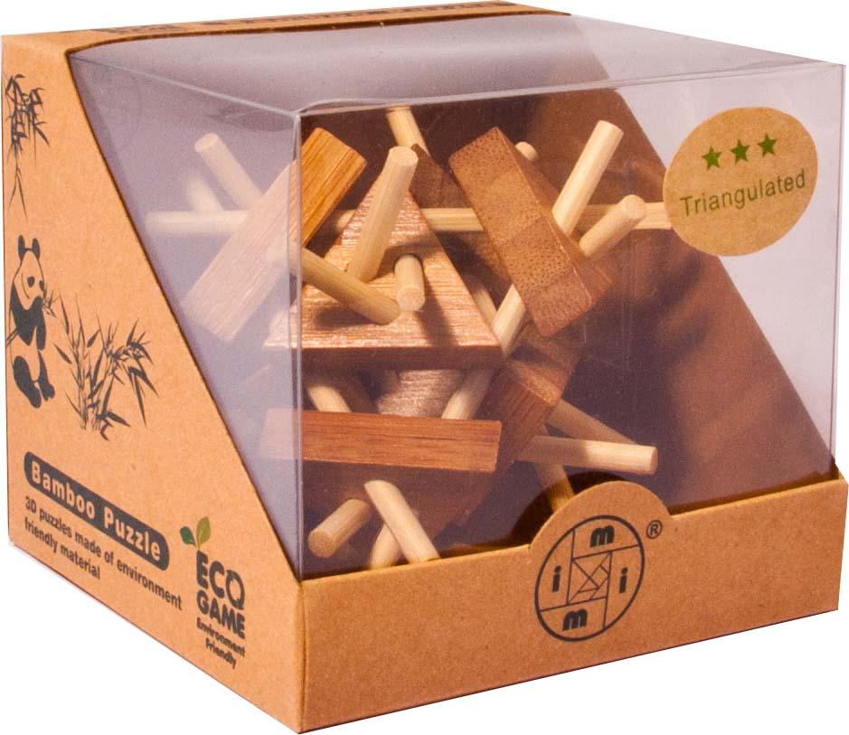 Bambusový hlavolam - Trojúhelník